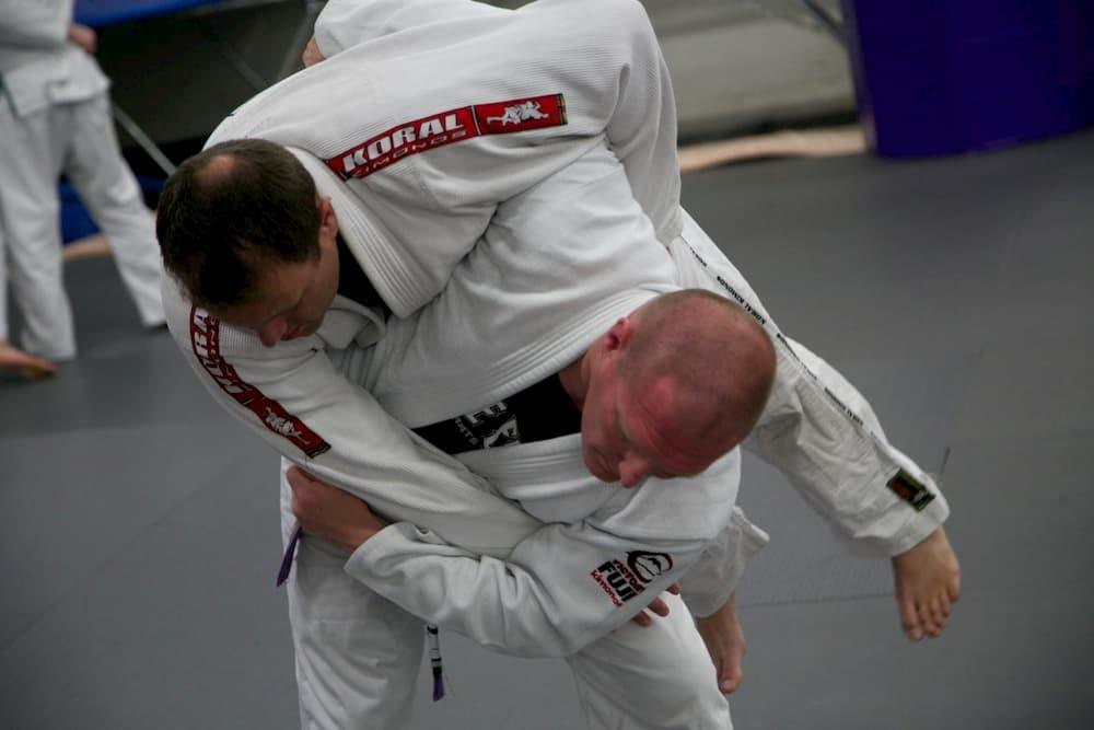 Hip Toss in BJJ